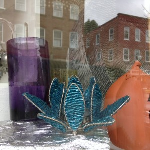 Procopio on Central Street in Woodstock offers interior design services and a storefront filled with colorful glassware and furniture accents