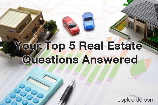 Top 5 Real Estate Questions