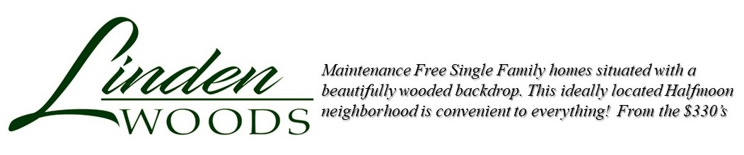 Linden Woods Neighborhood Logo with Description of the Community
