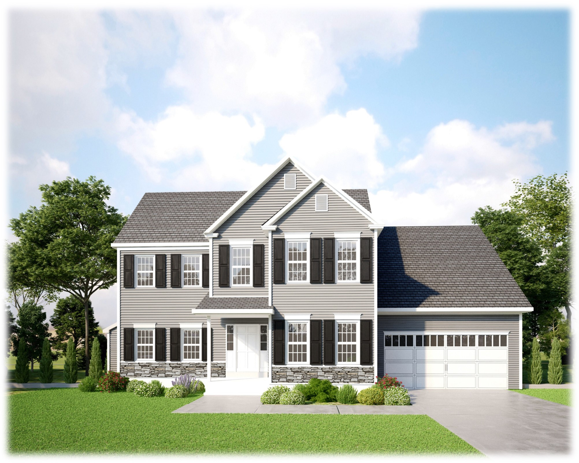 gray colonial