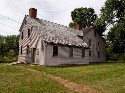 The Ashley House Museum in Ashley Falls MA