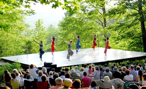 Jacob's Pillow in Becket, MA