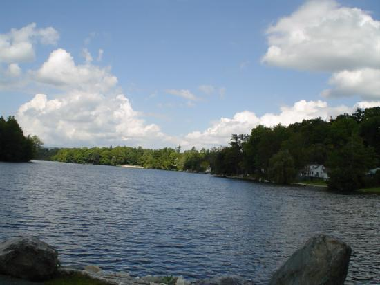 Laurel Lake in Lee MA