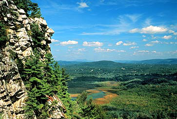 Monument Mountain in Great Barrington MA