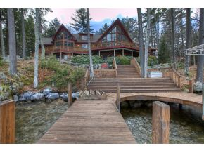 Executive Lake Winnipesaukee Adirondack Home