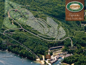 Site Map Squam River Landing