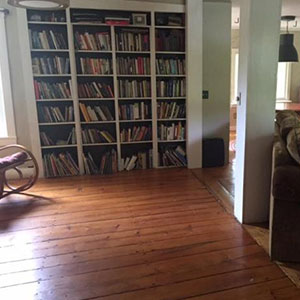 436 Main Street - Built in bookcases in the study