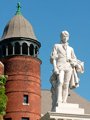 Barre Burns Statue