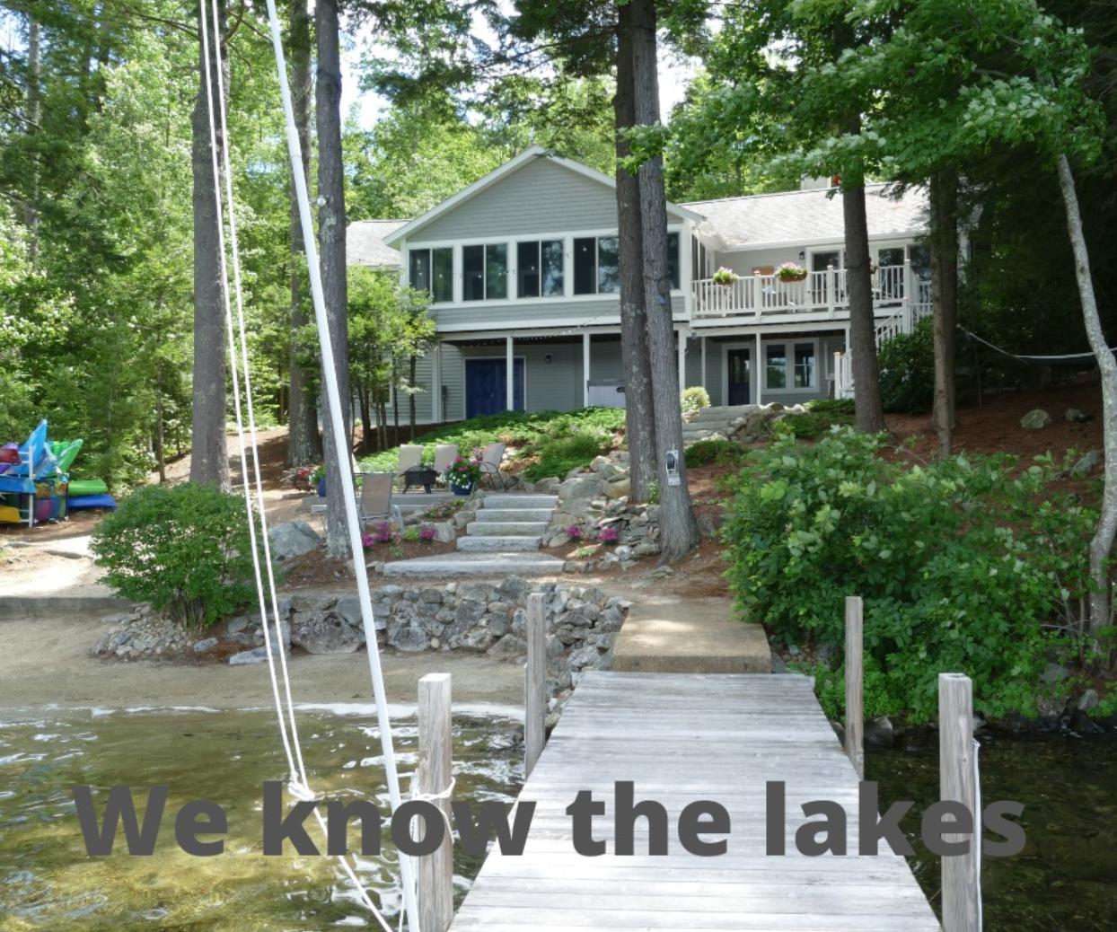 Lake - waterfront - lakefront homes for sale - NH Waukewan home