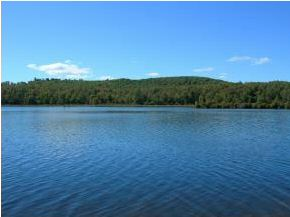 NH waterfront property for sale - lake view