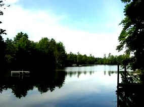 Balch lake real estate for sale - view of balch lake