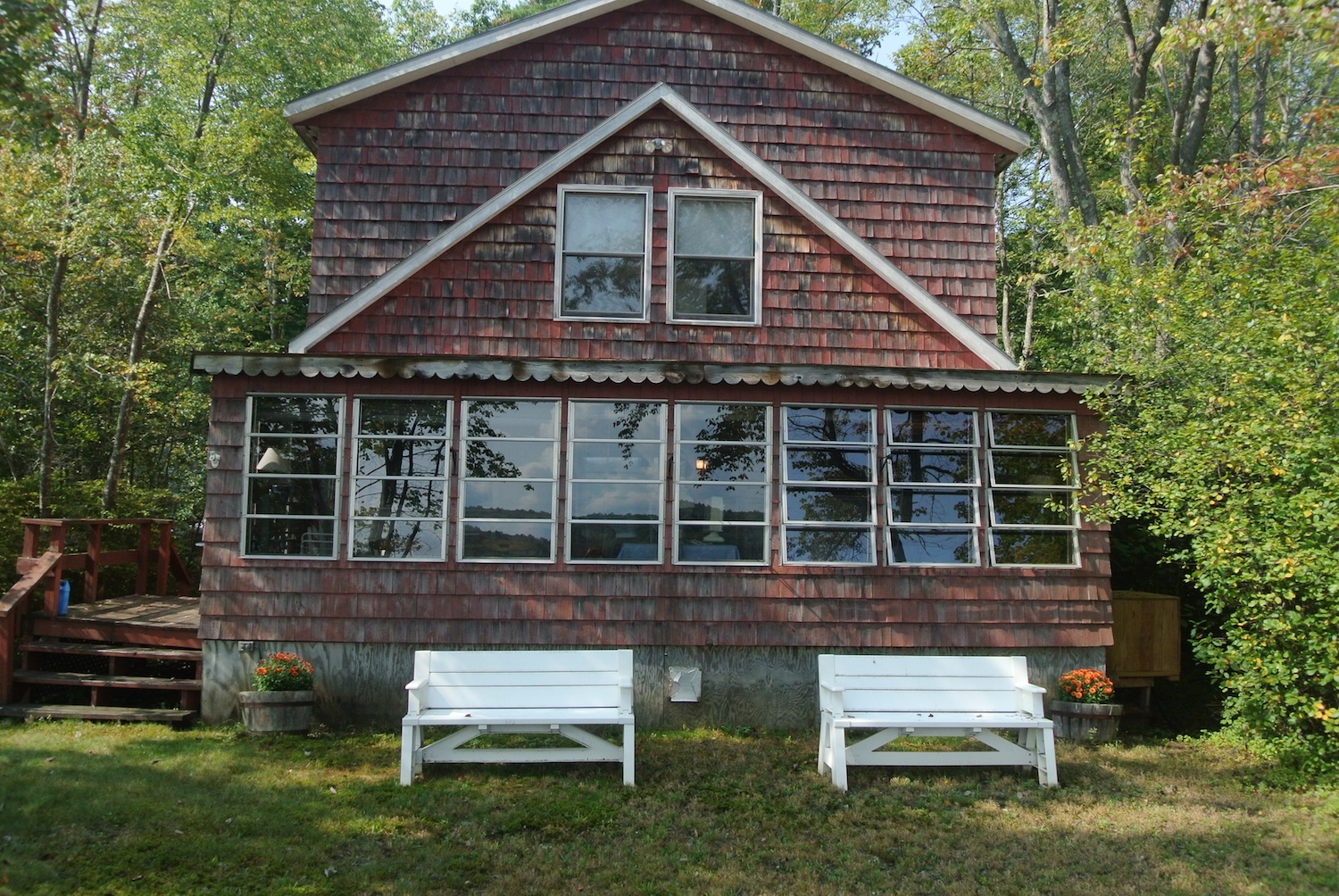 lakefront home sold on silver lake, Tilton NH