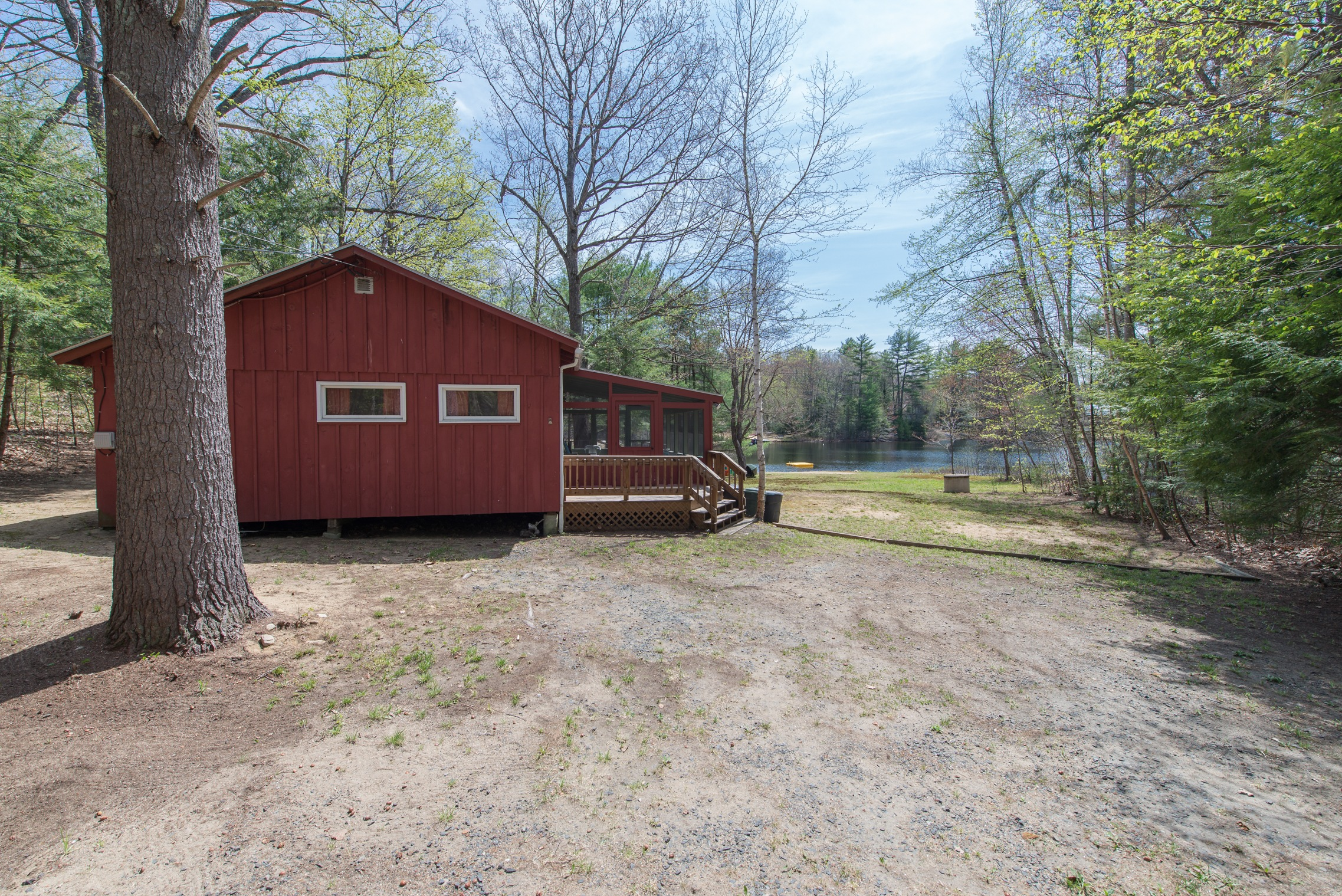 Silver Lake in Tilton NH real estate for sale - Home on the lake