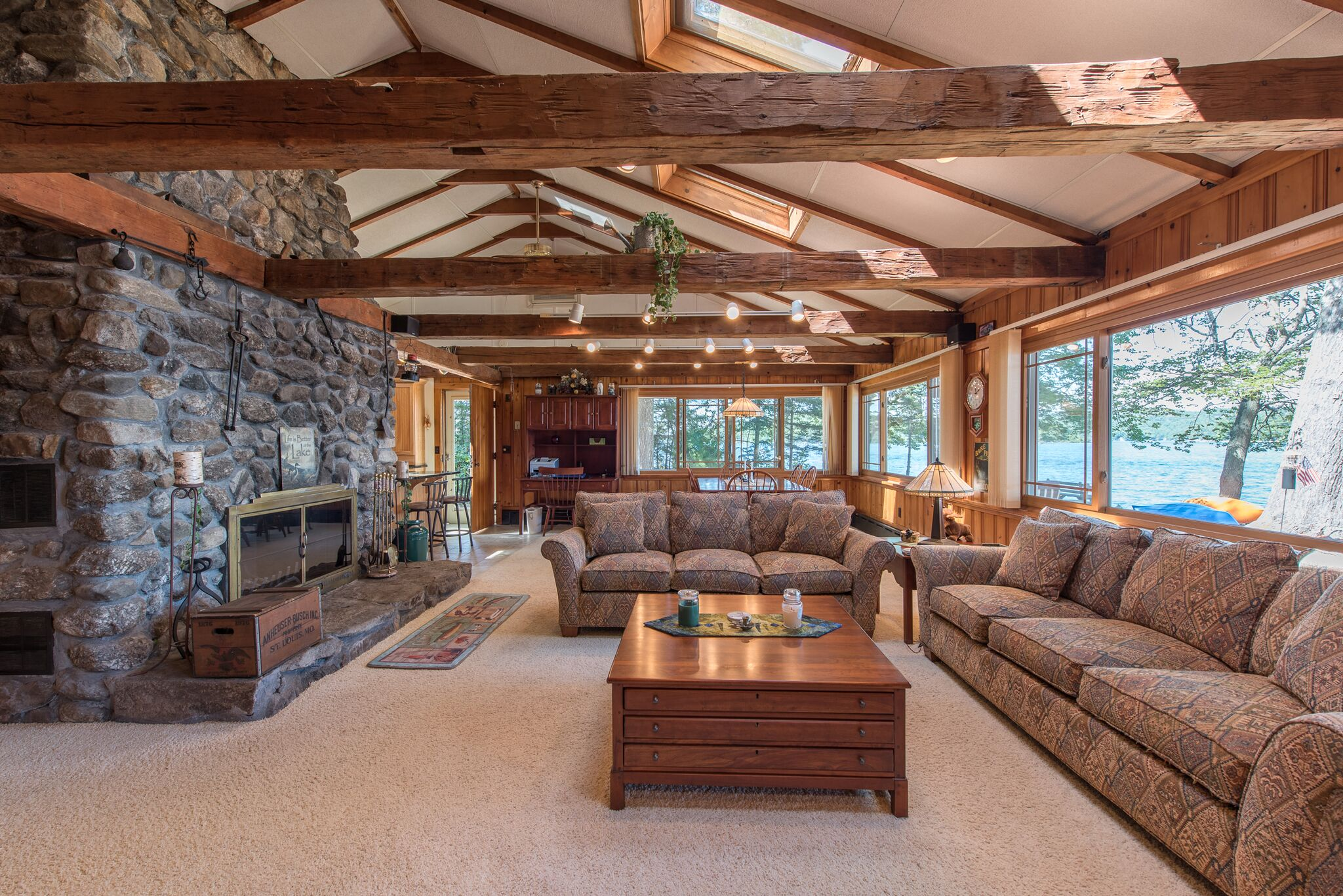 NH waterfront homes for sale - interior of a lakefront home