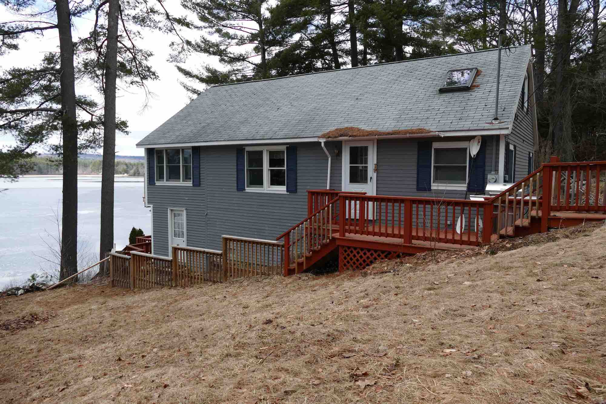 NH Lake Homes for Sale - Hills Pond Home