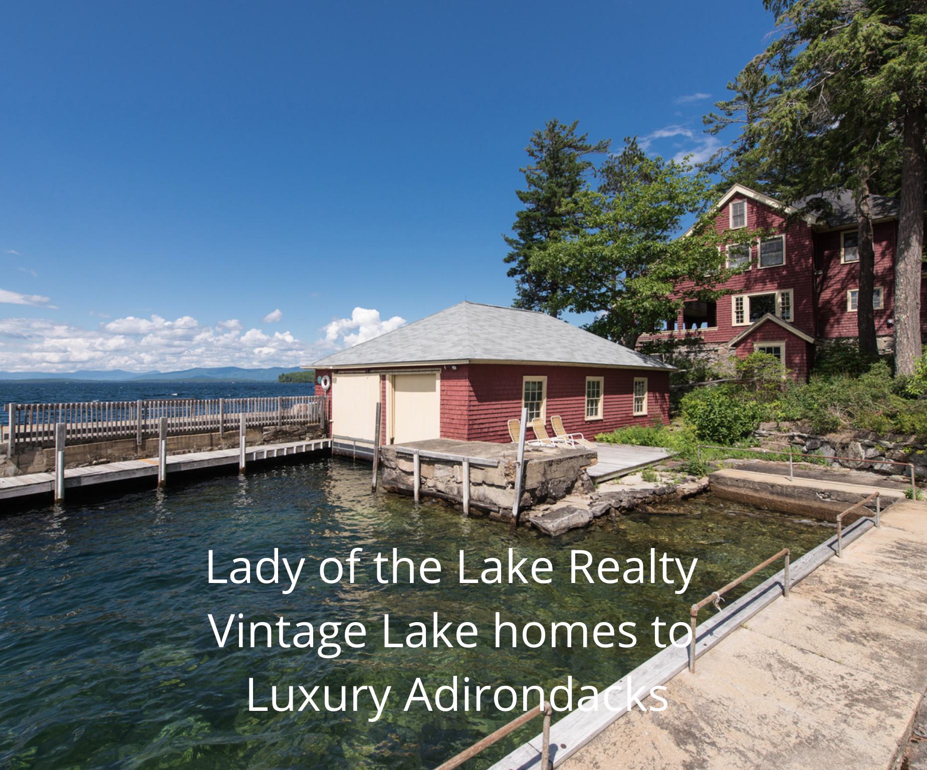 Lakefront homes for sale in NH - waterfront luxury homes NH