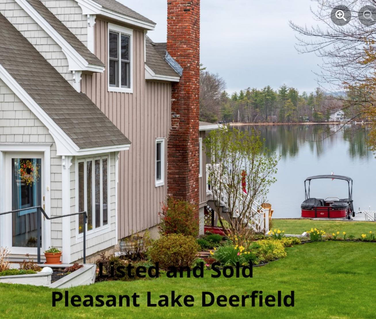 Pleasant Lake waterfront Deerfield NH