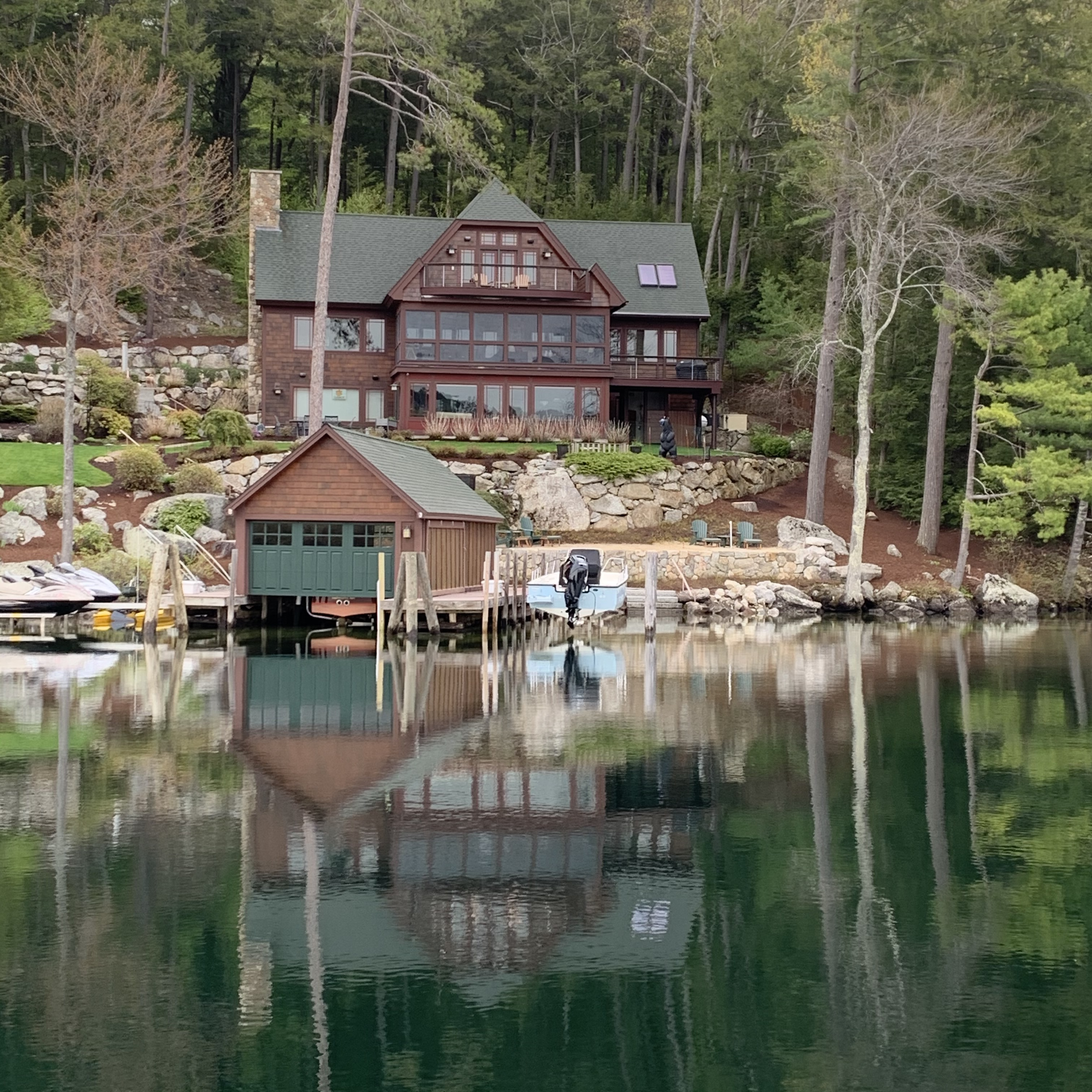 Waterfront home on Lake Winnipesaukee - Winnipesaukee home sales