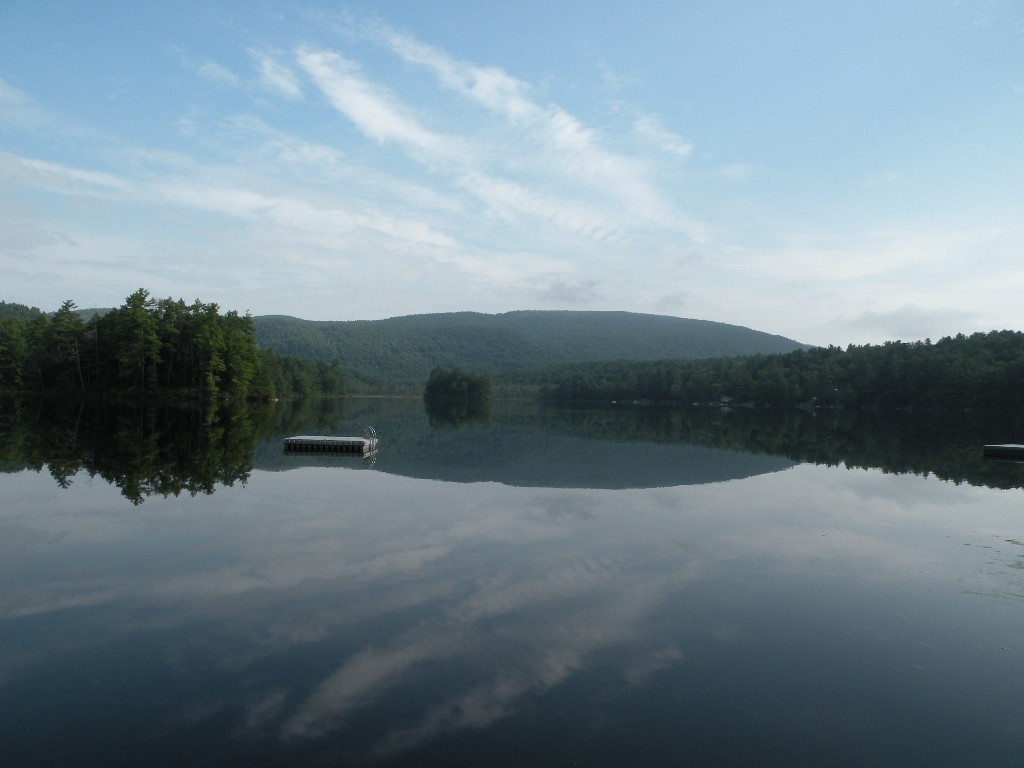 Hills Pond Alton NH - View - Lakefront real estate for sale