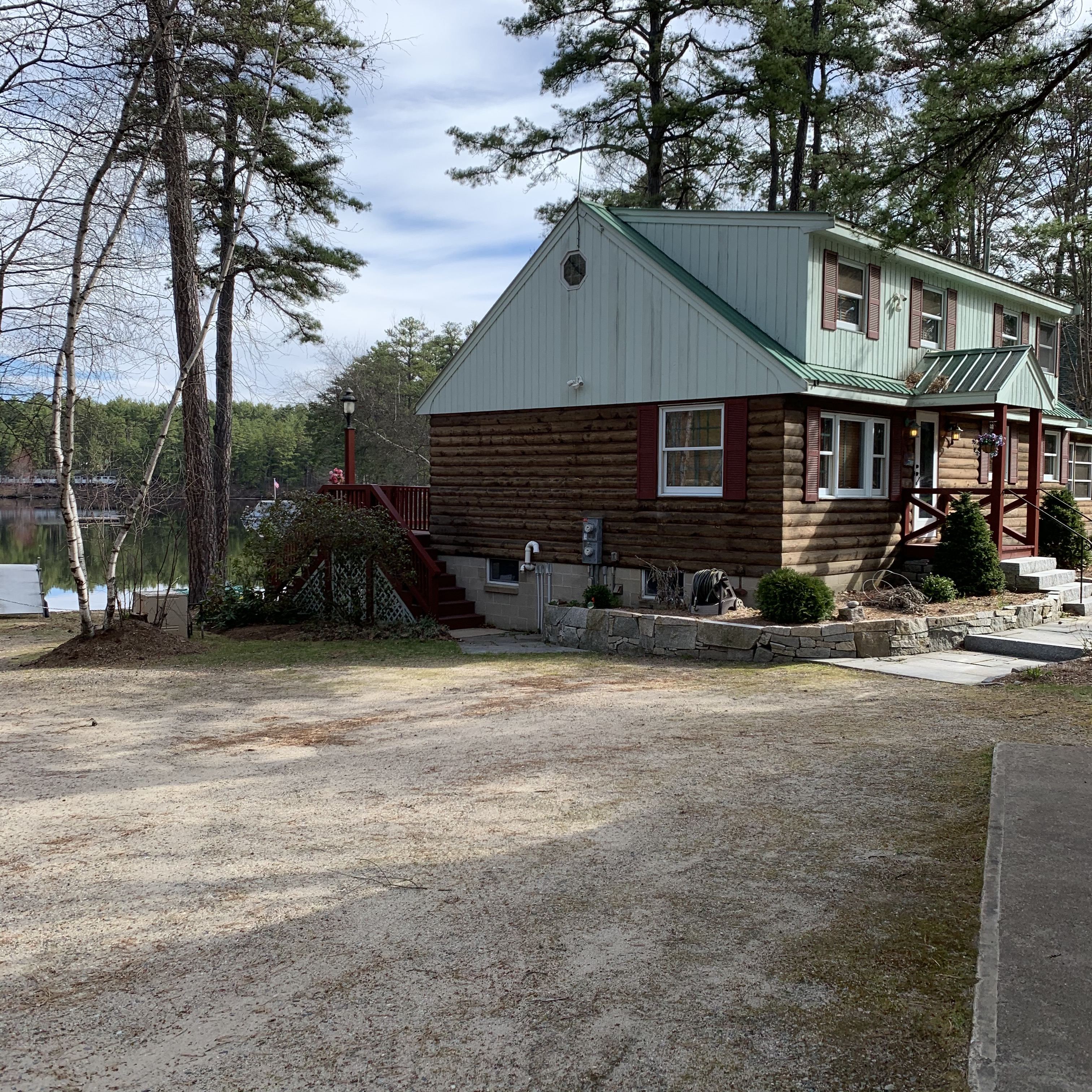 Ossipee Home, many homes lie in the flood zone
