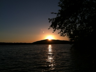 Newfound Lake Real Estate - Lakefront Newfound Homes - Sunset