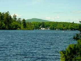 Lovell Lake Real Estate - Water view on lovell lake in Wakefield nh