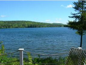 nh lakefront property for sale - view of millen lake