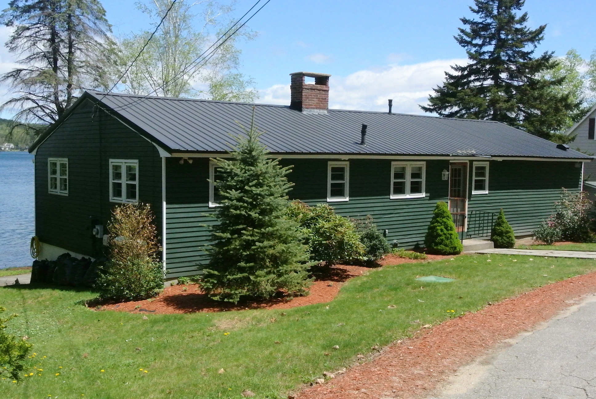 Nh lakefront real estate affordable homes lady of the for Lake house property