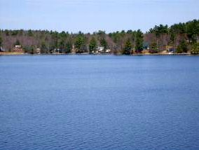 NH Lakes real estate - sawyer lake homes and property for sale - view picture