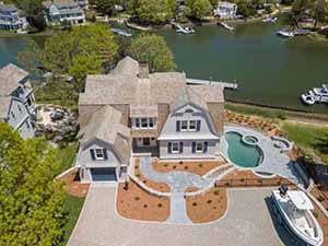 Cape Cod Waterfront Home for Sale in New Seabury