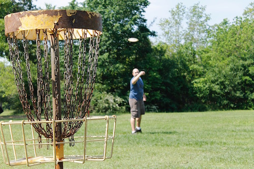 Asheville NC Disc Golf Course