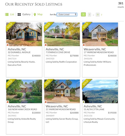 Asheville NC Listing Agents