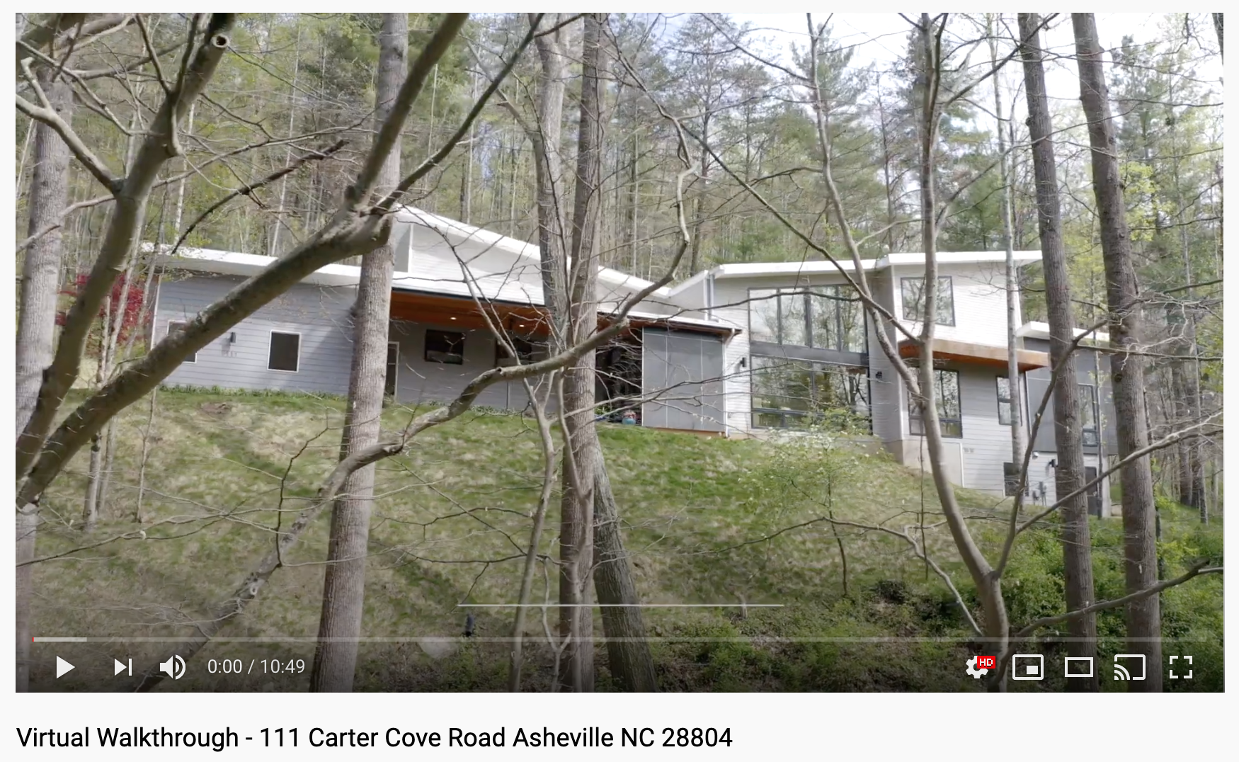 Asheville Real Estate Virtual Tours