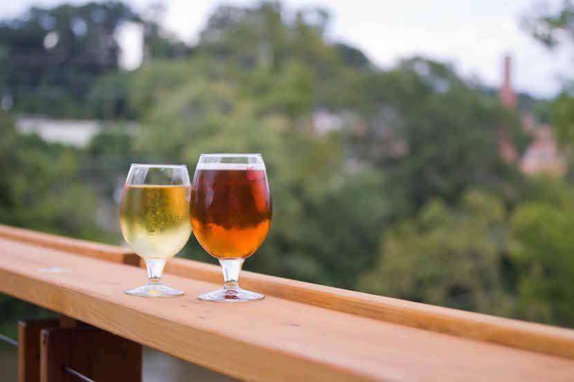 Asheville Riverside Bars and Restaurants
