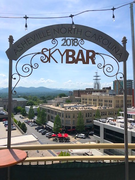 Asheville Rooftop Bar Sky Bar