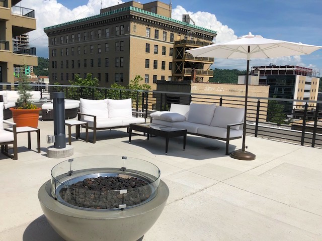 Asheville Rooftop Bar
