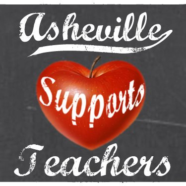 Asheville Supports Teachers