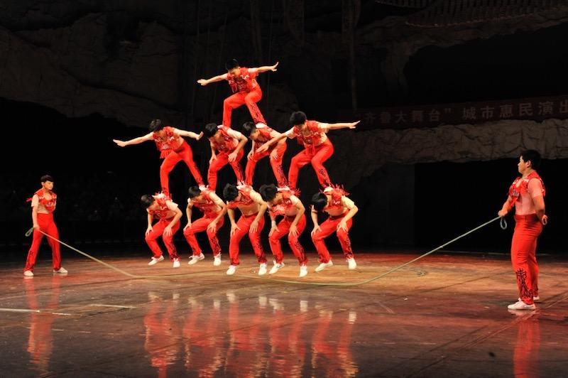 Asheville Theater Acrobats