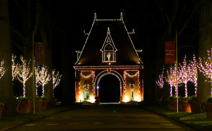 Biltmore Holiday Lights Asheville