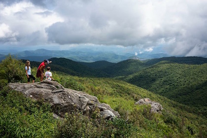 Black Balsam Hike Near Asheville