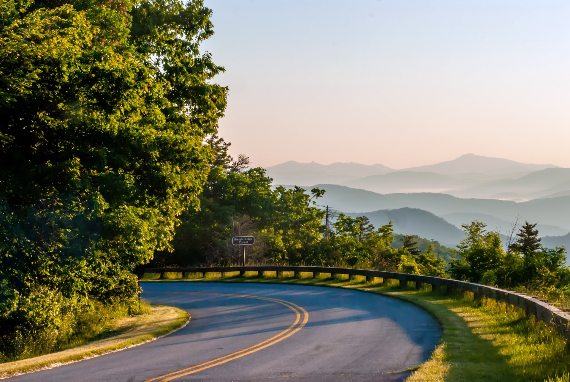 Blue Ridge Parkway Near Asheville