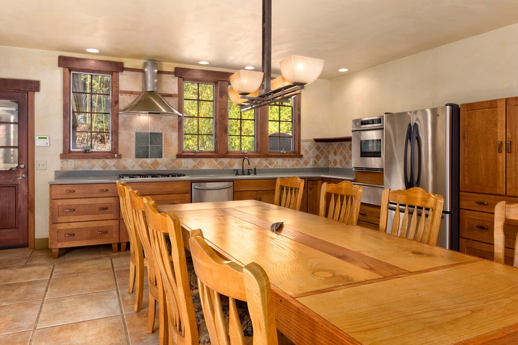 Enormous Custom Oak Dining Table