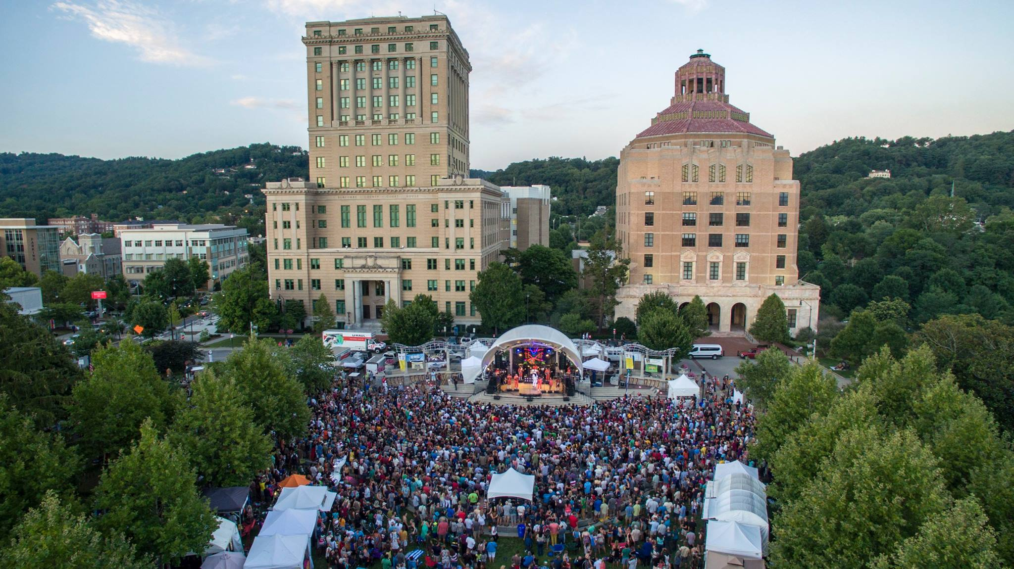 Pack Square Asheville Festivals