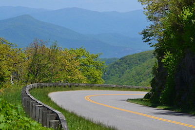 Proximity to the Blue Ridge Parkway