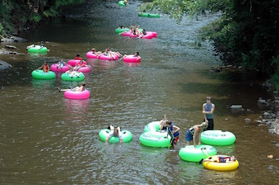 River Tubing Near Asheville