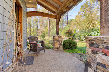 Seller Services Staged Outdoor Living