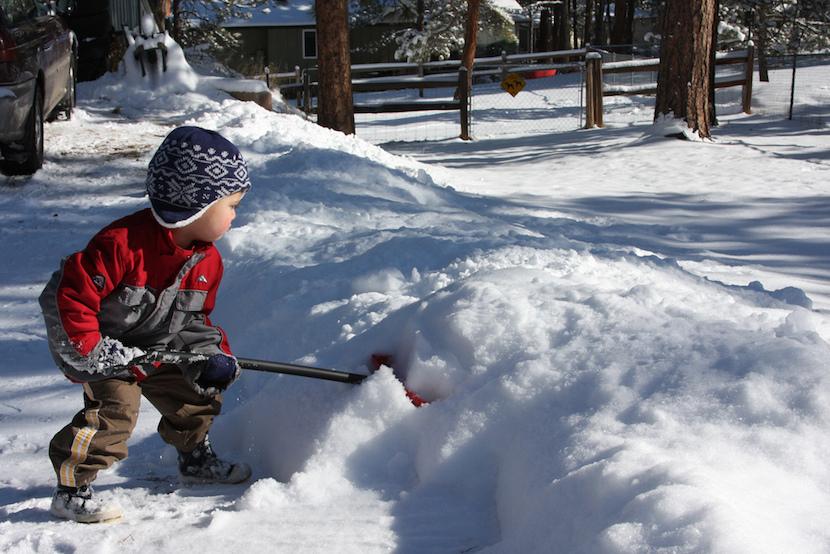 Shoveling Snow Asheville