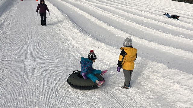 Snow Tubing Near Asheville