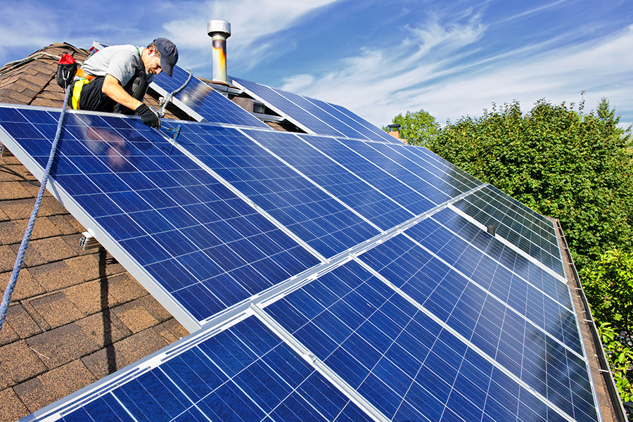 Solar Panels Green Homes