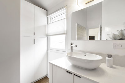 Uncluttered Bathroom Surfaces